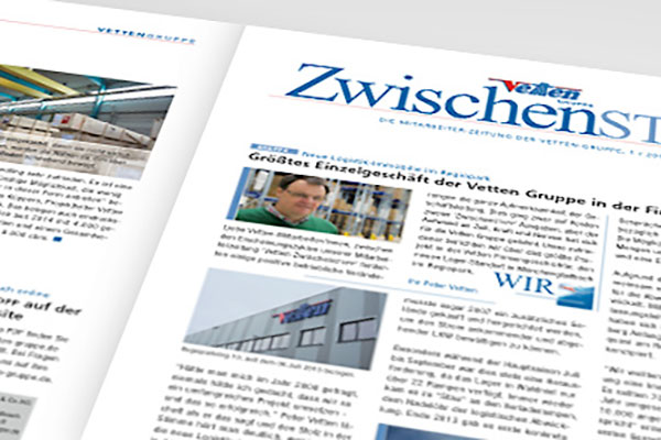 Vetten-Gruppe Familienunternehmen Zwischenstopp Zeitung Mitarbeiter 2